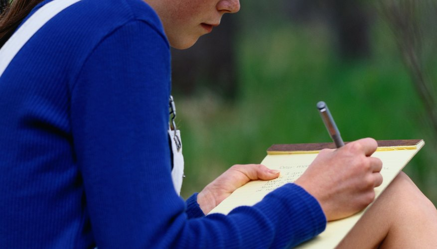 Pen a romantic letter to express your feelings to him.