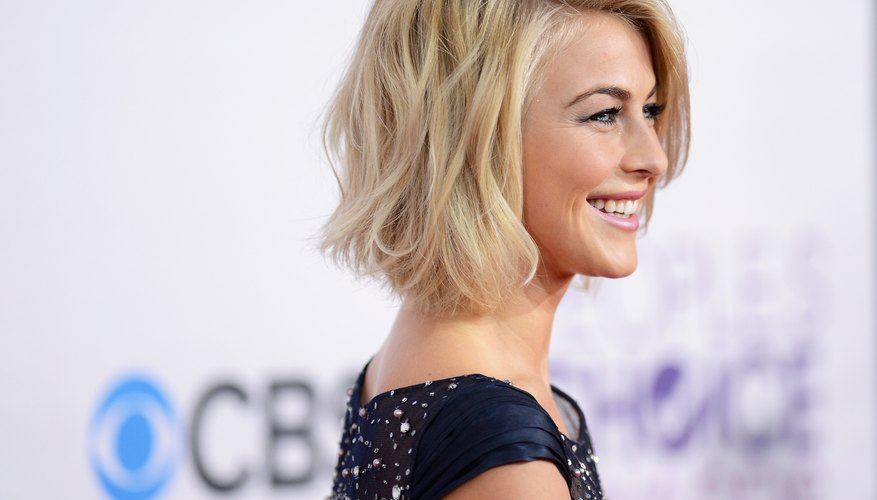 Julianne Hough shows off a choppy style that's both edgy and polished.