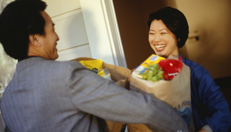Services such as Peapod are ideal to use if you have a busy schedule.