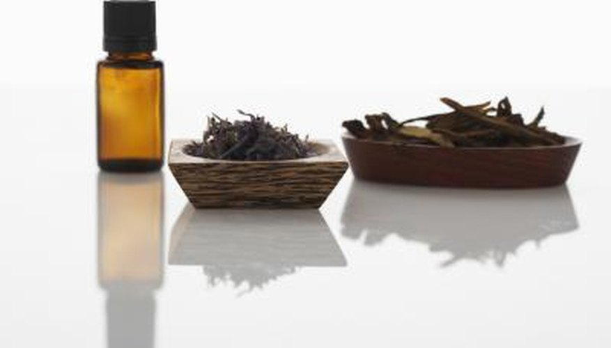 Essential oil from plants concentrates the chemical properties into a form that is easy to use.