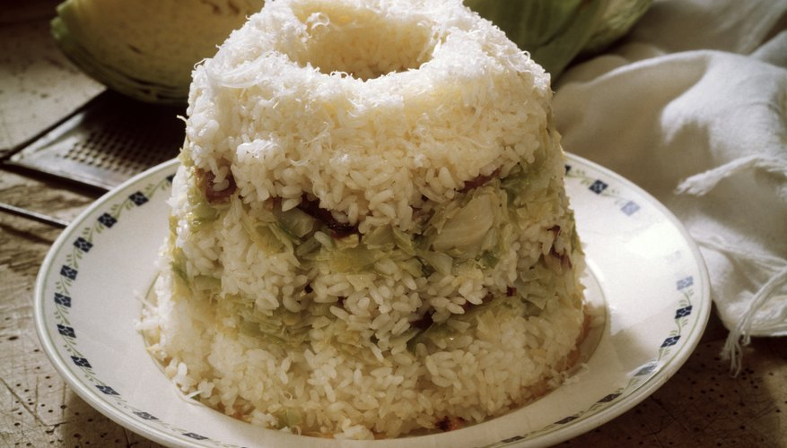 Steaming rice is an alternative to boiling it.