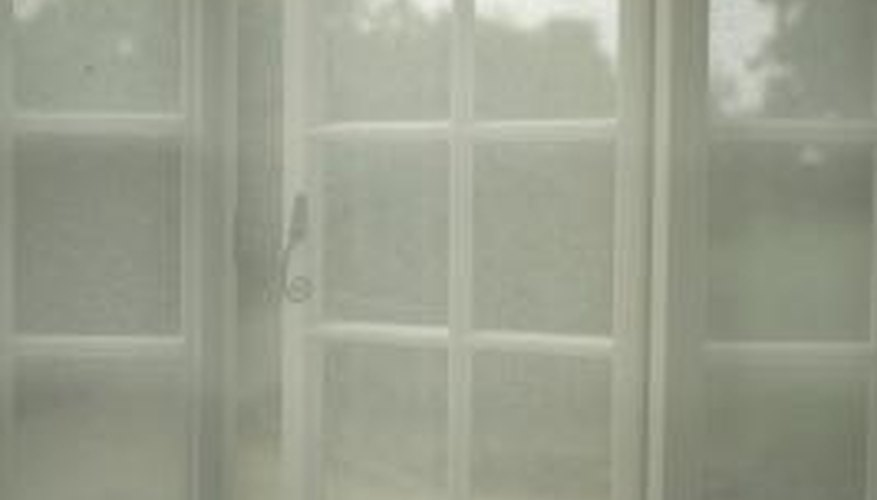 Net curtains can brighten a room.