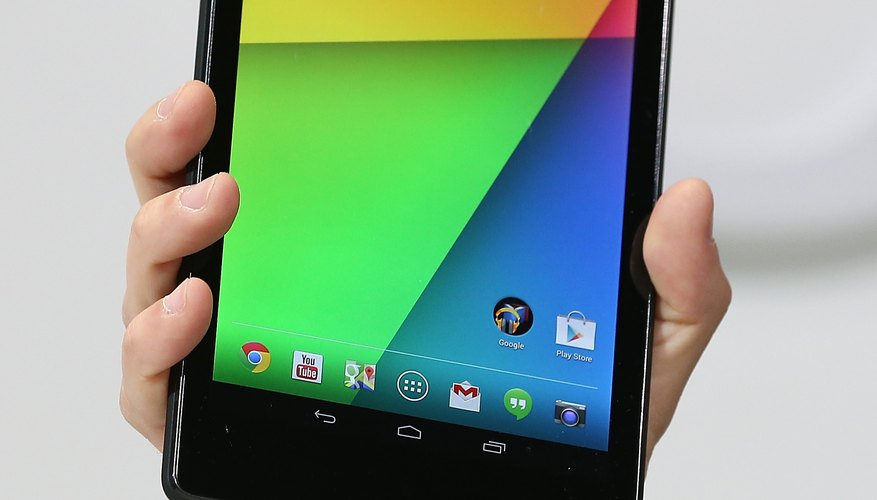 Google's Nexus 7 Android tablet gets its name from the screen size.
