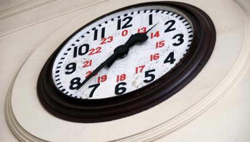 Wall clocks may run too fast or too slow without proper care.