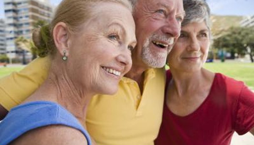 Men in their 70s may prefer to receive experiences rather than things
