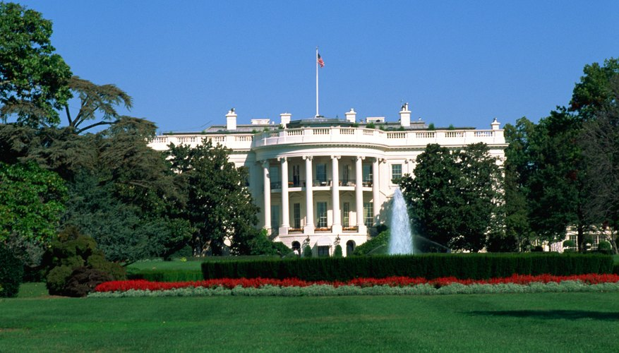 George Washington oversaw the building of the White House, but never lived there.