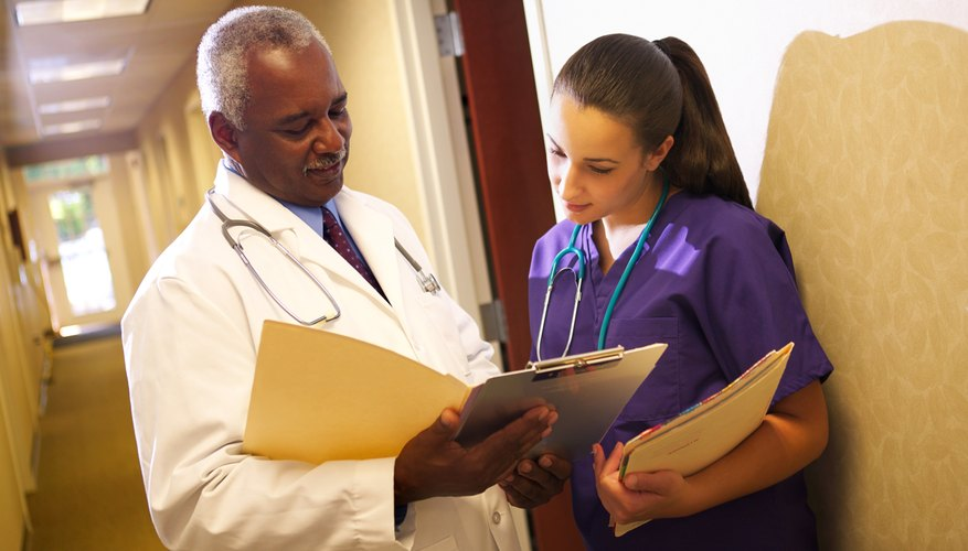 Physician assistants complete physical exams and order diagnostic tests, among other duties.