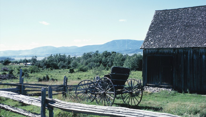 The Amish live a lifestyle that is dictated by their spiritual beliefs.