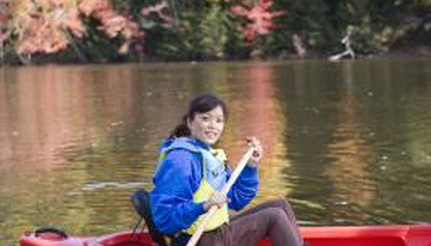 Fibreglass canoes are lightweight and sturdy.