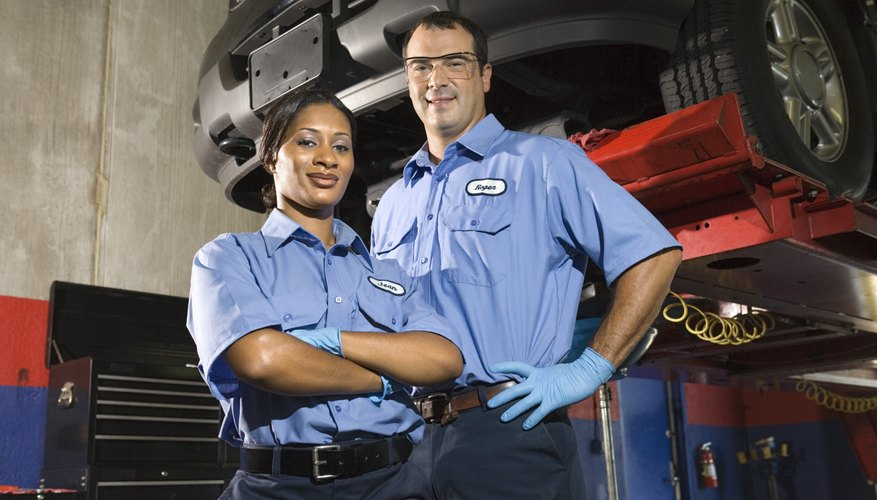 Becoming a mechanic requires hands-on experience and schooling.