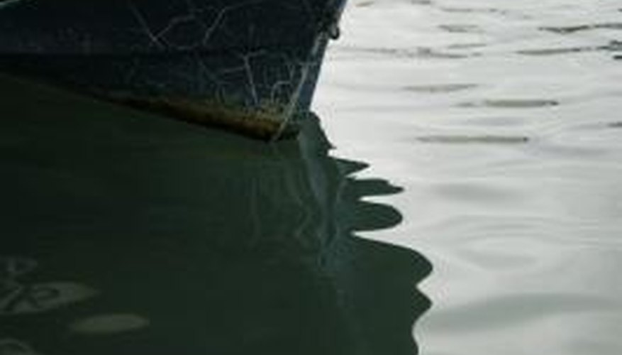 The removal of antifouling paint can be a painstaking process.