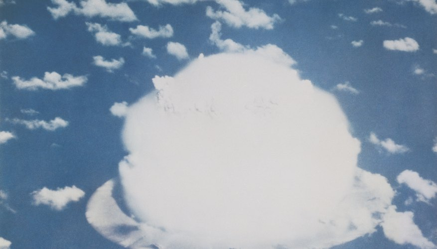 Experts were unsure whether the first atomic bomb would detonate properly when dropped from an airplane.