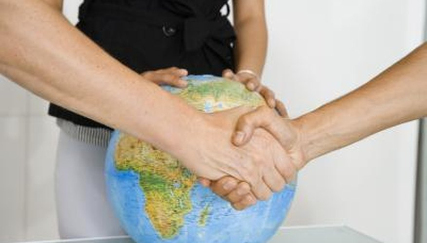 Treaties are a means of formalising international agreements.
