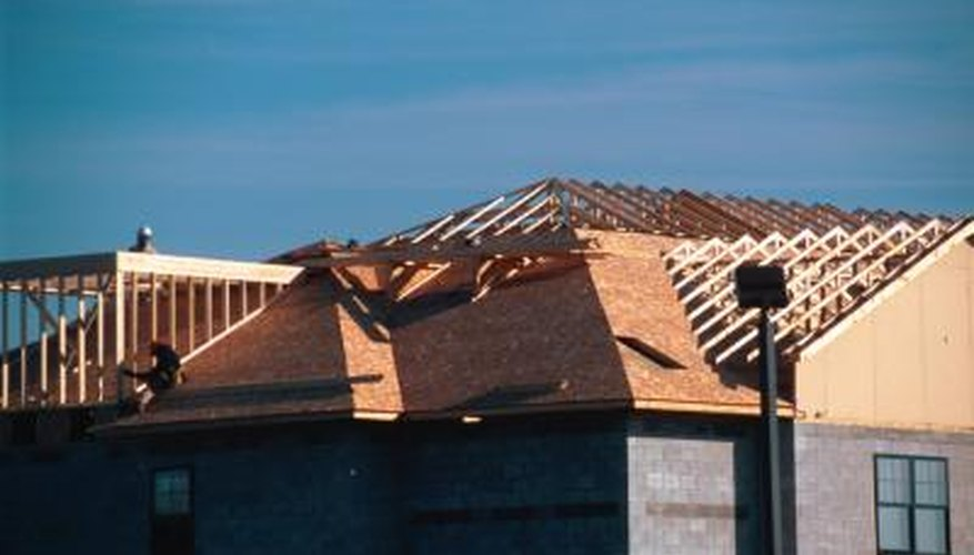 This roof uses all seven types of rafters.