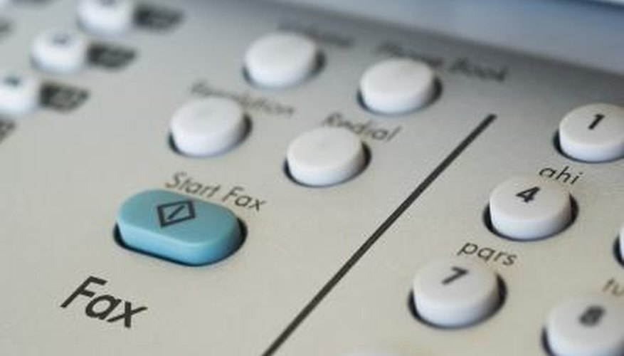 eFax and other e-mail faxing services helps streamline the faxing process.