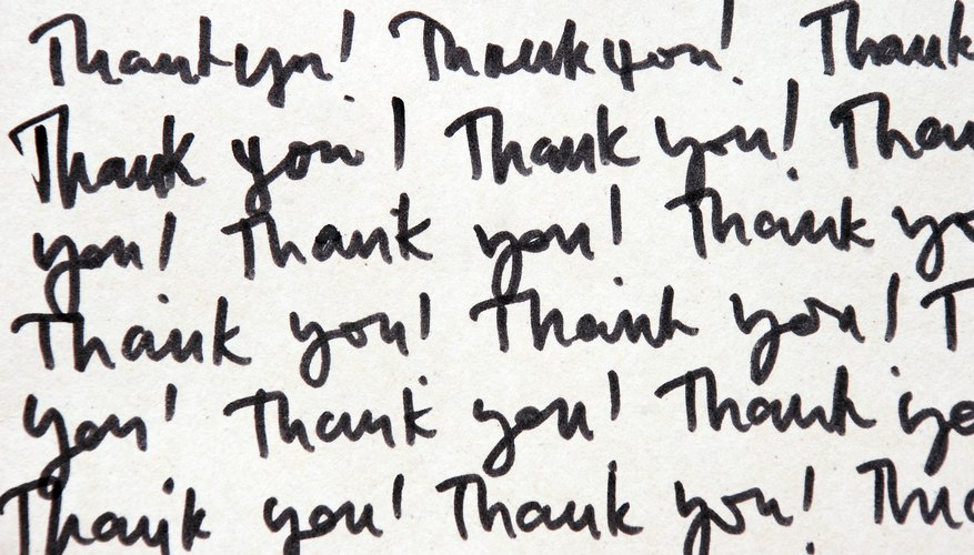 Keep your note simple and don't go overboard with effusive gratitude.