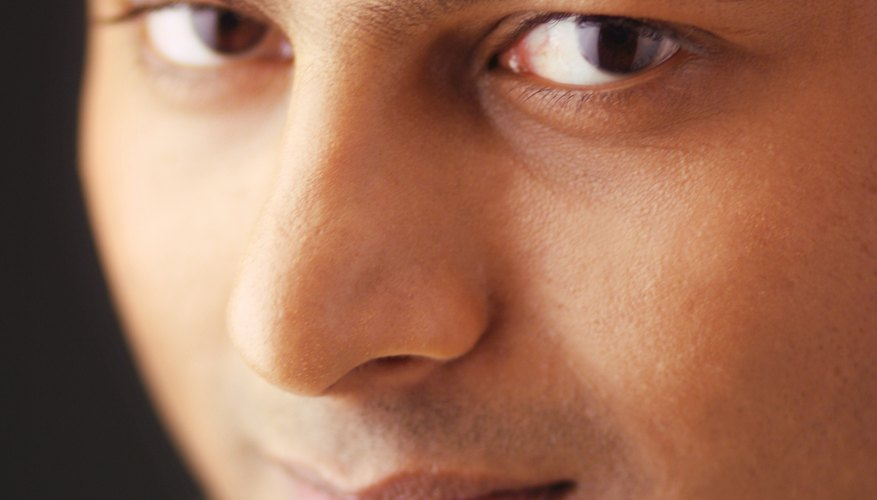In hinduism, marks on the forehead indicate religious sectarianism.