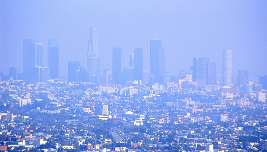 Types Of Air Pollution  Smog And Acid Rain
