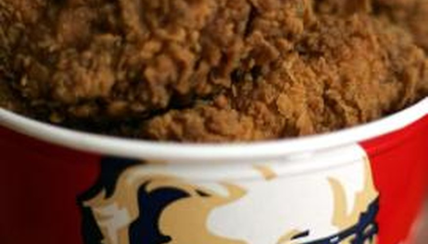 Kentucky Fried Chicken reheated n the oven is the best method.