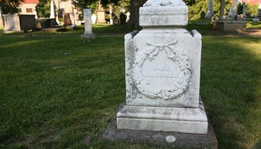 An incorrect gravestone can add to the pain a grieving family is going through.