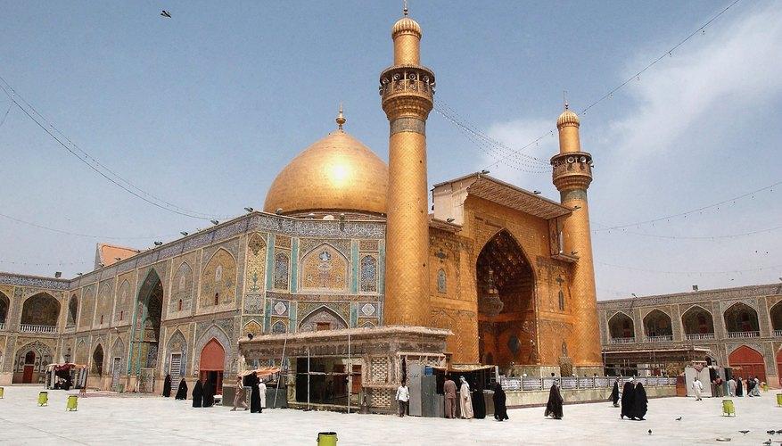 The Imam Ali Mosque, a Sacred Shiite Shrine