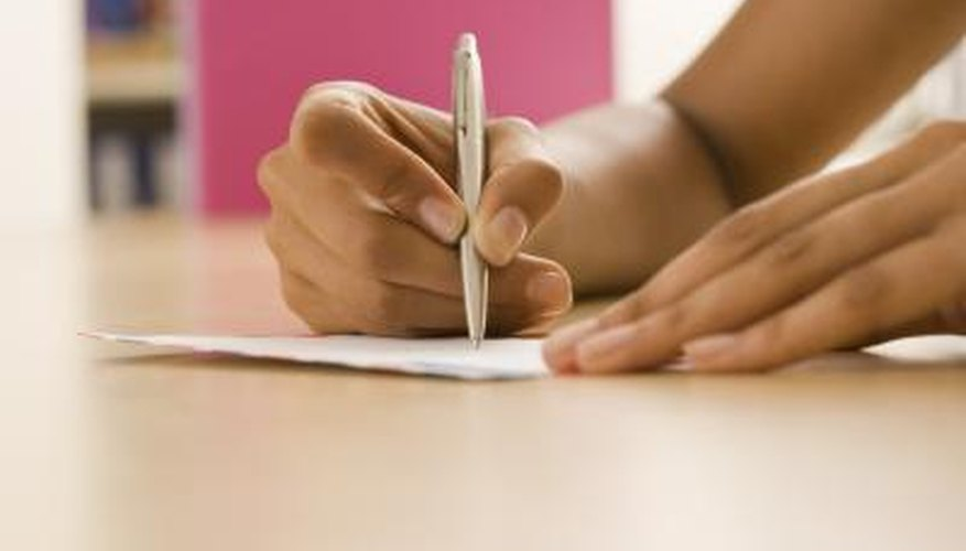 A college withdrawal letter should be short and simple.