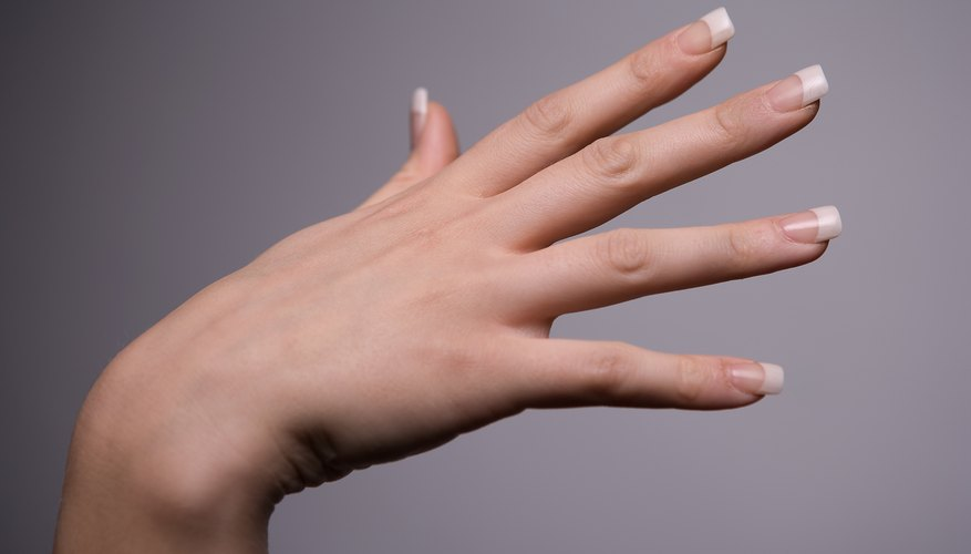 Don't try to cut off all of the nail length at once.