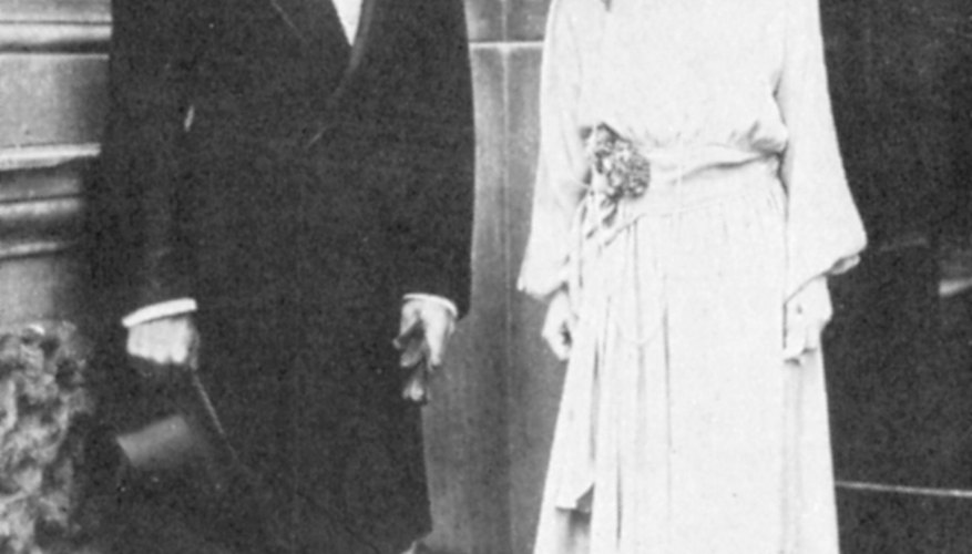 Elizabeth II, the current Queen of England, with her late husband Prince Albert.