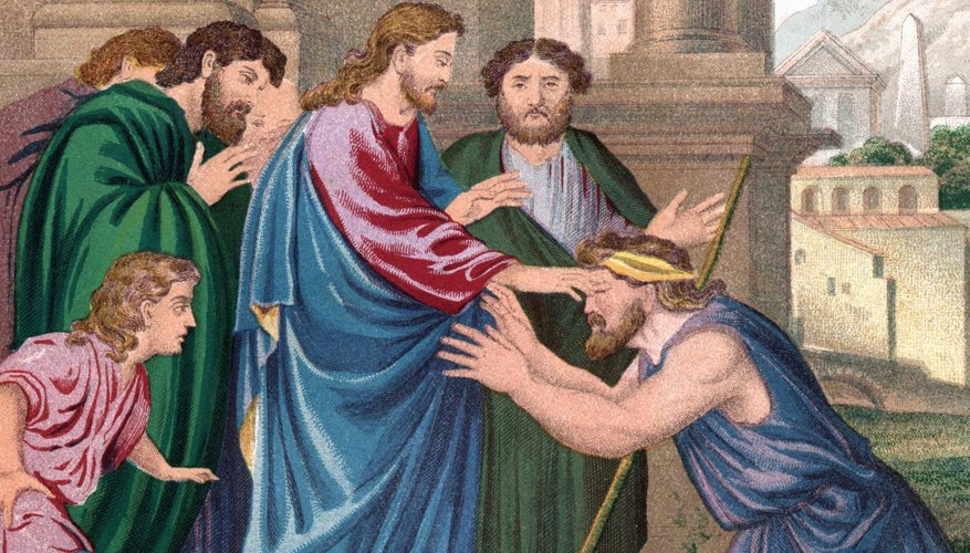 His healing power helped convince some that Jesus was the Messiah.