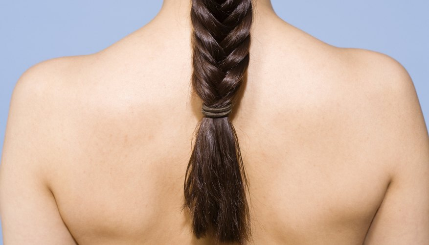 Keep your braids tamed with a few hair care products.