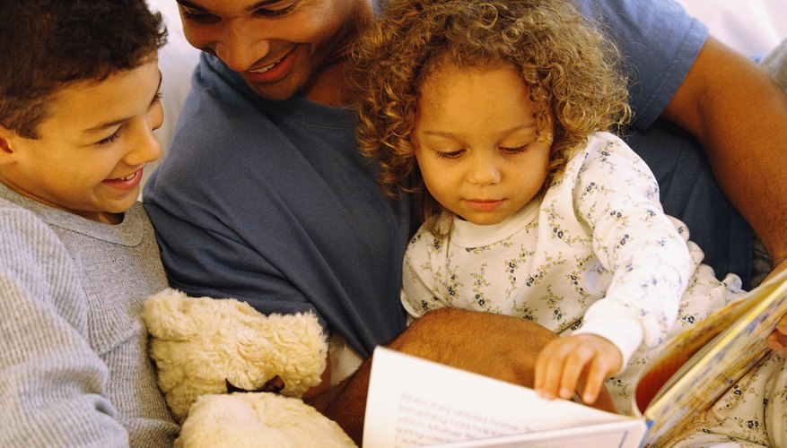 Hearing stories can help get children interested in reading.