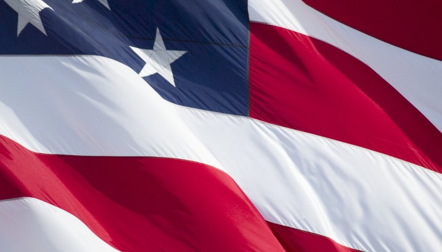 The flag is considered a living thing by the U.S. government.