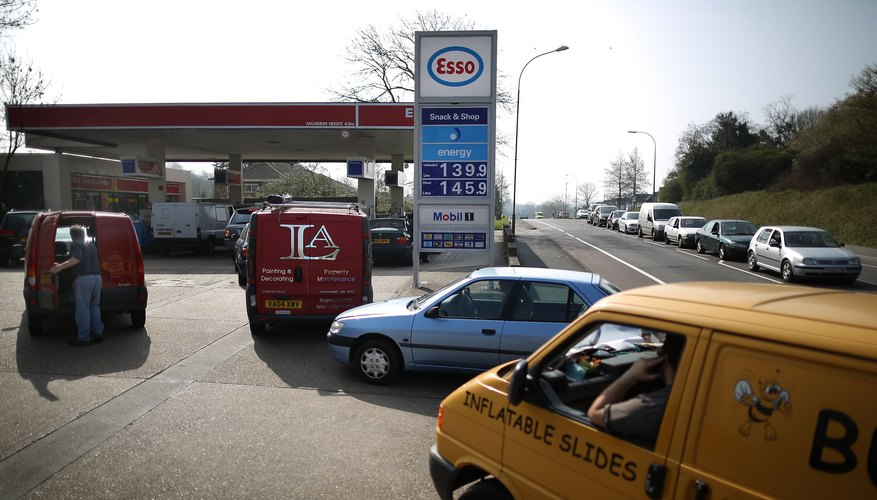 Petrol station income varies due to size and location.