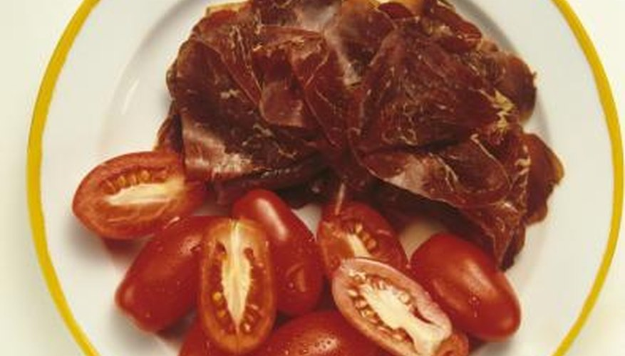 San Marzanos are the best of the plum tomatoes, but others can be substituted.