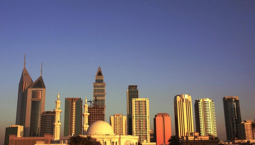 Dubai is a major center for Islamic finance.