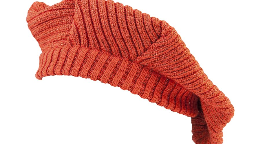 Save money by knitting a beret.