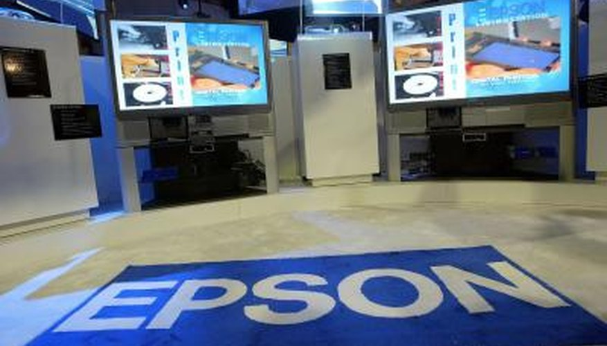 The Epson DX4400 uses four individual ink cartridges.
