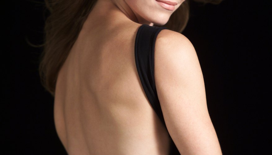 A standard bra band can ruin the beauty of a backless dress.
