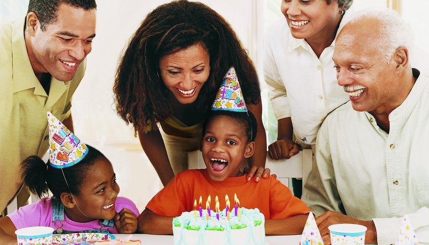 Birthday party celebration.
