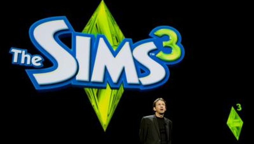 Sim characters can create relationships with the Grim Reaper as he visits to carry away the dead.