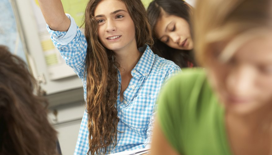 Problem-solving questions encourage students to use critical thinking skills.