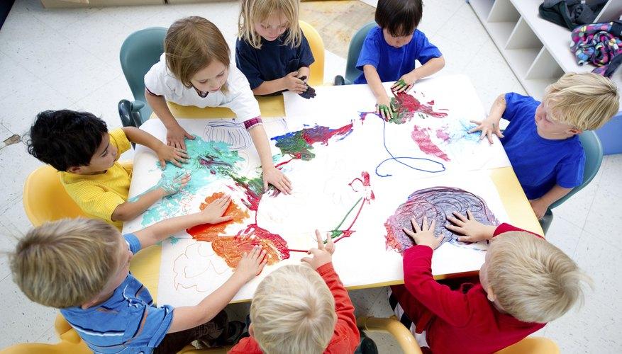 Children need creative thinking to help develop.