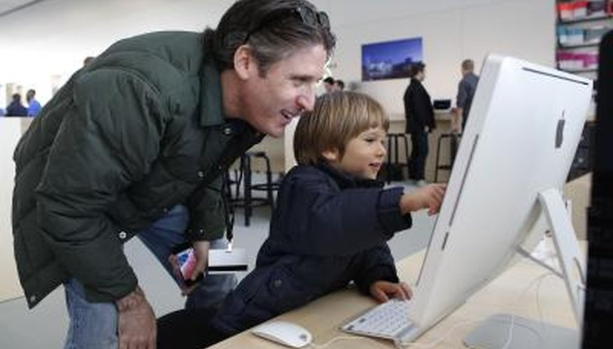 Using an iMac is child's play, once you learn how to get around.