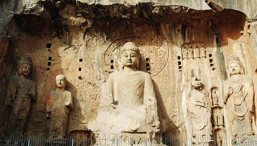 The Taliban destroyed Buddha statues in 2001 because they felt they violated the Quran's ban on idolatry.