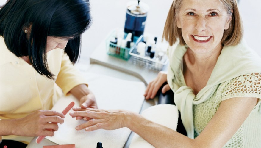 Tip your manicurist to show how much you appreciate the service.