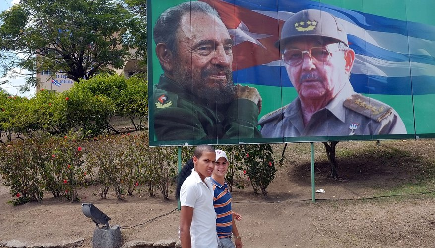 Images of the Castro Regime in Cuba.