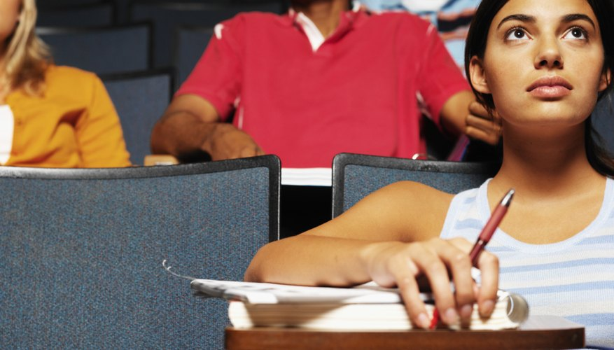 In college students are responsible for their own learning.