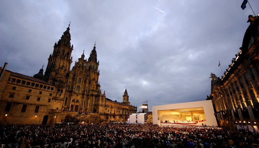 Santiago de Compostela became a major pilgrimage site in the Middle Ages.