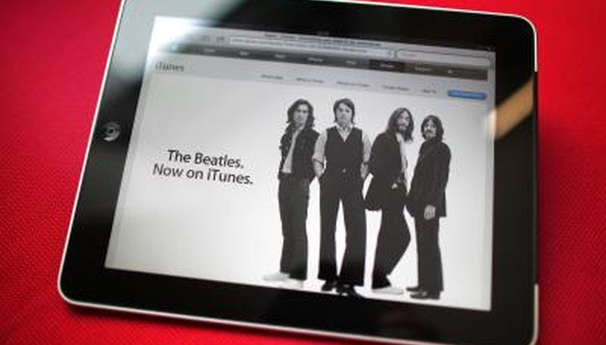 iTunes is required when setting up an iPod or iPad.