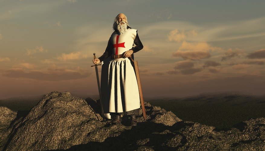 The Knights Templar were both warriors and monks.